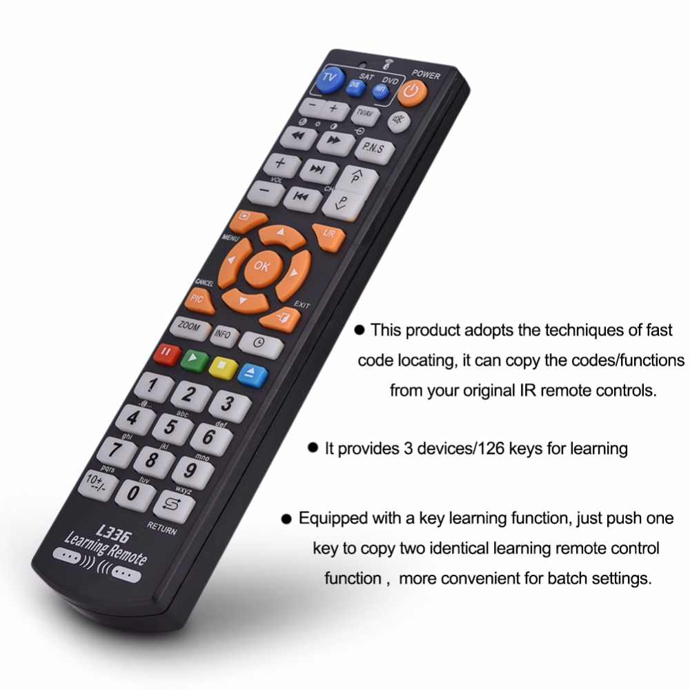 L366 Smart Learning English Remote Control Universal For  Sharp/Roku/Samsung/LG/Sony/TCL/Xiaomi 4K TV Television Remote Control