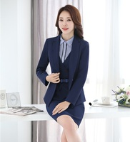 AidenRoy Formal Dress Suits For Women Business Suits Blazer And Jacket Sets Ladies Office Uniforms Styles