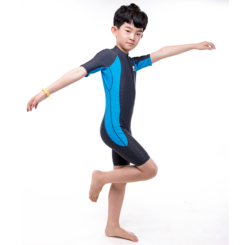 Boys swimsuit professional swimwear Exquisite craft Comfortable and quick to dry High-quality materials One-piece swimsuit niumo new professional swimsuit woman high collar one piece small breasts together big yards conservative
