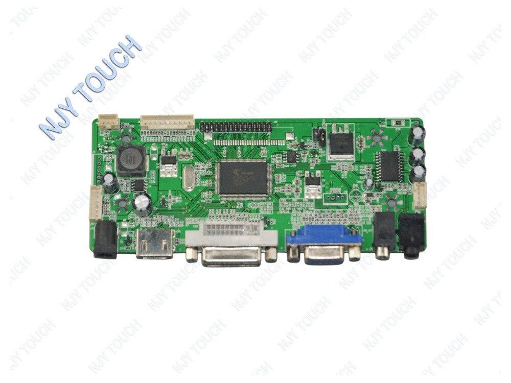NJYTouch M.NT68676.2A HDMI DVI VGA Audio LCD Controller Board for LP173WD1-TLA1 LP173WD1-TLC1 LP173WD1-TLC3 1600x900