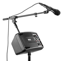 Neewer вечерние комплект дома караоке системы стерео динамик мониторы напольная подставка кардиоидный динамический микрофон клип и XLR Male до Fe