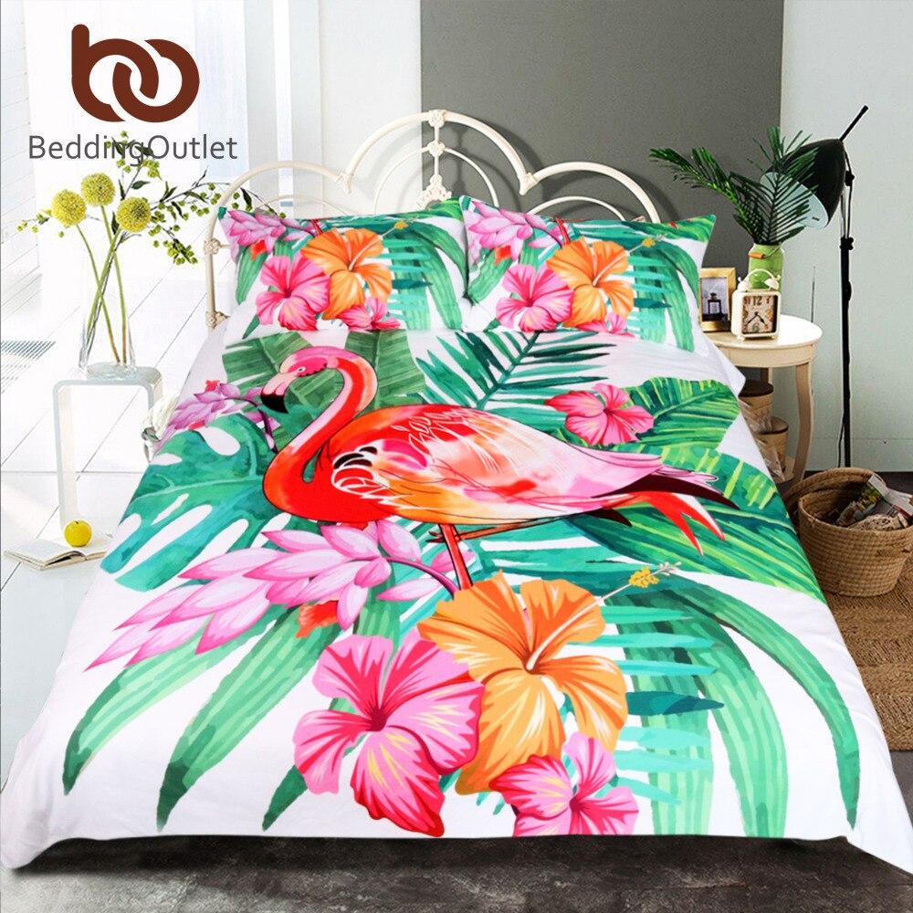Online Get Cheap Tropical Bedding Sets Aliexpress Com