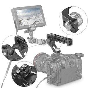 Image 5 - SmallRig lustrzanka cyfrowa górna uchwyt rękojeści boczne Arri lokalizowanie uchwyt z 15mm zacisk pręta ARRI lokalizowanie otwory stabilizator kamery 2165