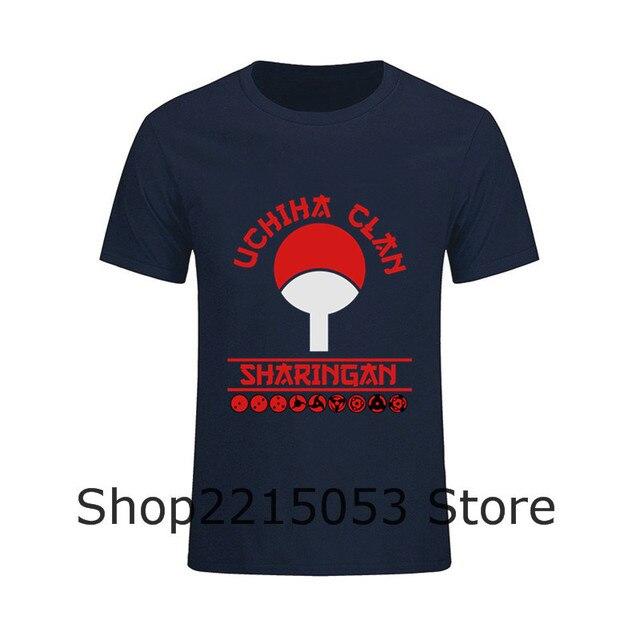 aliexpress : buy t shirt men awesome letter uchiha clan tee