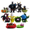 2016 NEW hot 6CM Zombie Toys 10 Pcs/Set Best action figure toys Cool Christmas gift doll