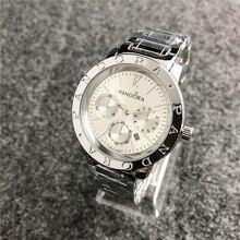 Pandora часы для женщин часы pandora браслет талисманы Серебро 925 оригинальные роскошные женские часы для женщин reloj mujer saat relogio
