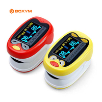 BOXYM Infant Pulse Oximeter Pediatric SpO2 Blood Oxygen Heart Rate Monitor baby Neonatal child kids Rechargeable CE Approved