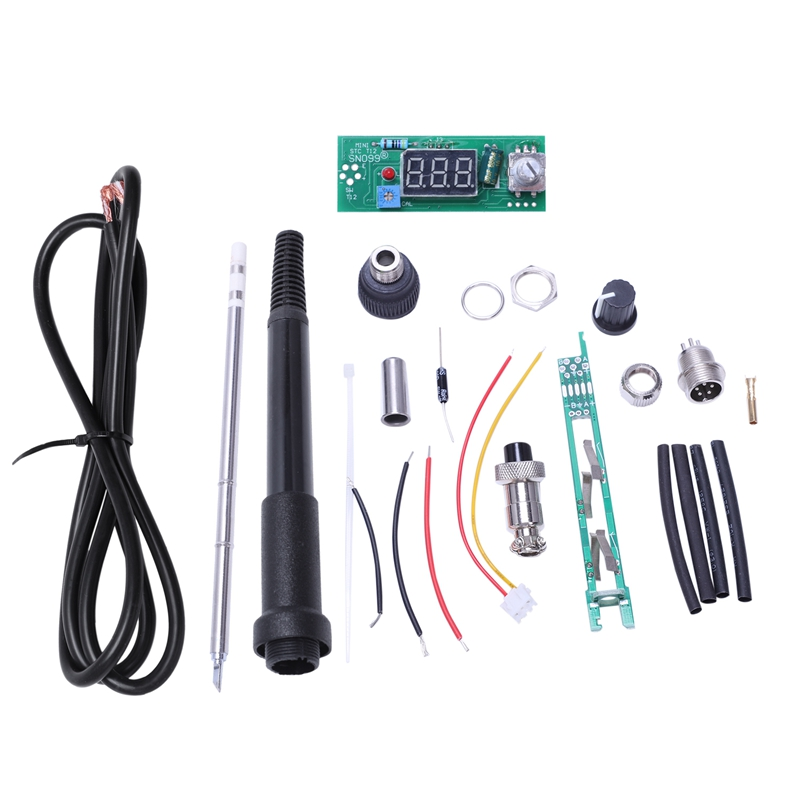 Kits de régulateur de température de Station de fer à souder ELEG-Digital pour poignée HAKKO T12