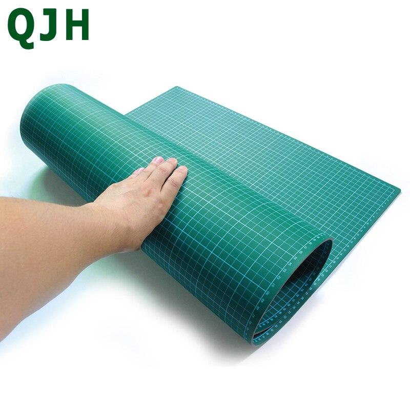 A1 A2 A3 A4 PVC tapis de coupe Patchwork tampon de coupe manuel bricolage en cuir outil planche à découper Double face auto-guérison tampon de coupe