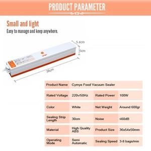 Image 3 - CYMYE 食品セーバー真空シーラー QH01 機 + プラスチックロール