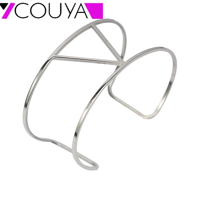 Náramky a náramky pro ženy Ruční Dámské Velkoobchod Šperky Manžetové knoflíčky Náramek Vintage Stříbrný Náramek A10028