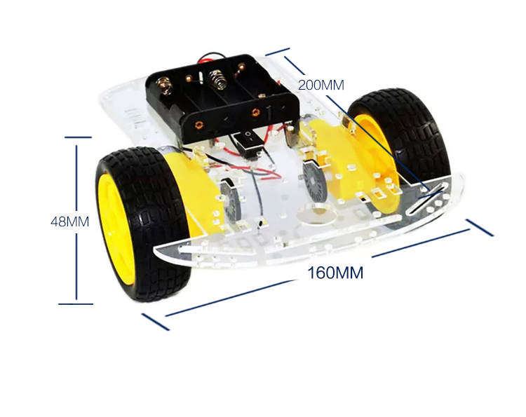 Motor Smart Robot Car For Arduino