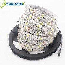 Tira de luces LED Flexible, 5050 RGBW RGBWW DC12V 60 LED/m IP20 IP65 RGB, luz blanca cálida, 5 m/lote, mejor que Smd3528 5630 5730