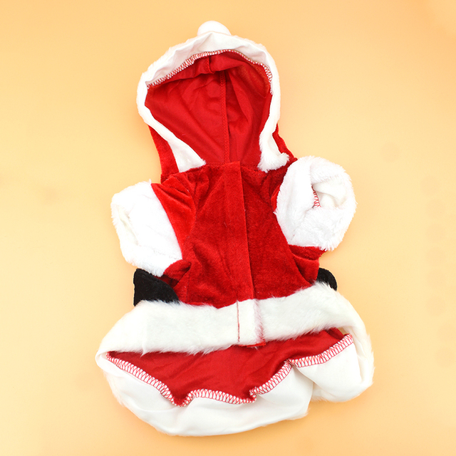 Christmas Dog Clothes Santa Costume Pet Dog Christmas Clothes