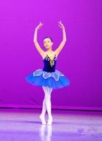 Girls Gymnastic Leotard Ballet Dancing Dress White Swan Lake Costume Ballerina Dress Kids Ballet Dress Children Ballet Tutu suit
