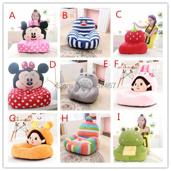 Soft Toddler Chairs Pedicure Chair Cover Washable Lovely Children Sofa Cartoon S Comfortable Kids Best Gift For Baby Home Decoration Furniture