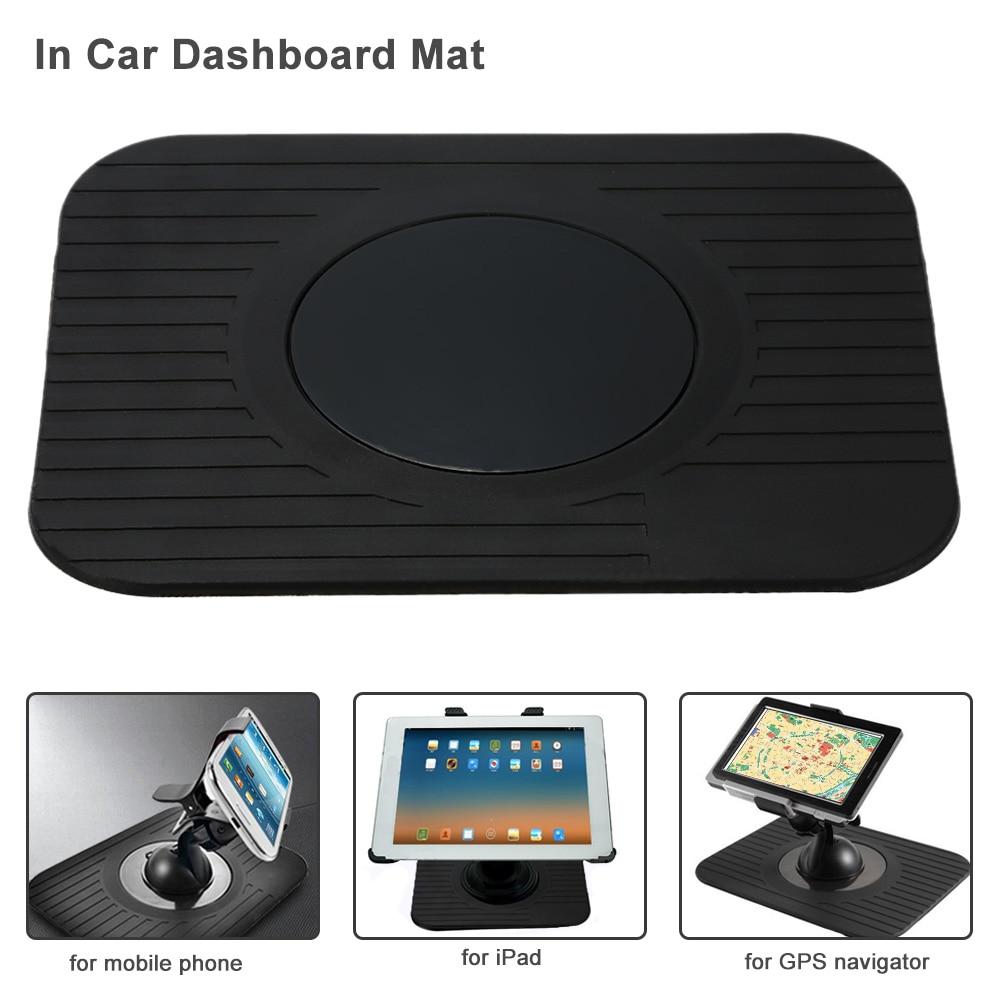 KKmoon Car Interior Accessories GPS Dashboard Mount Holder Car Style Nav Dash Mat for iPad GPS