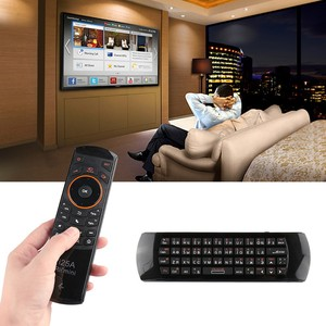 Image 2 - Rii Mini i25A 2.4G Wireless Fly Air mouse Russian English Hebrew Keyboard Rii i25 Remote For Android TV Remote TV BOX