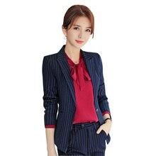цена 3 pieces Suits Ladies Formal pant Suits Office Uniform Style Female Business Work Fashion Women Blazer Set Plus size blouse suit в интернет-магазинах