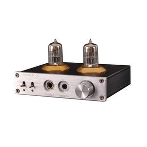 Image 3 - Луся 6N3 ламповый усилитель для наушников MAX9722 DAC аудио декодер 1300 МВт мощность для 16 600ohm наушников T0654