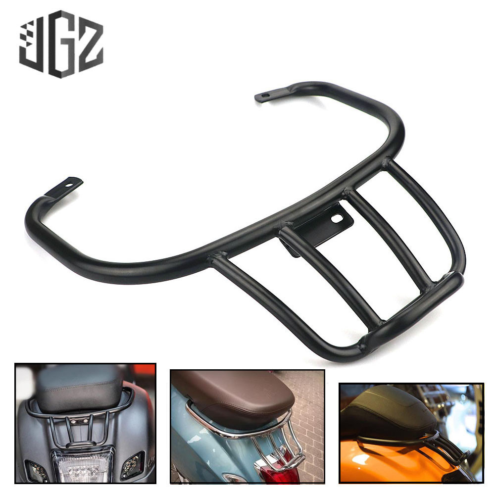 Motorcycle CNC Aluminum Carbon Sports Luggage Rack Book Shelf Rear Bracket Support Holder for VESPA GTS
