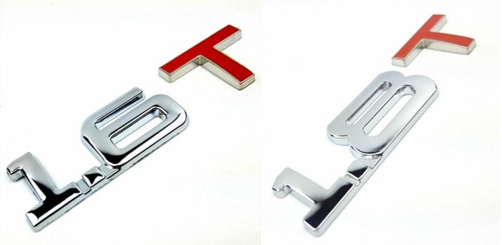 1.6 т 1.8 т 3D логотип автомобиля металла Стикеры герба Знак наклейки для Mazda Kia Renault Toyota bmw ford focus автомобиль Средства для укладки волос