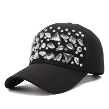 Fibonacci High Quality Rhinestone Baseball Cap Outdoor Fashion Drake Hats Adjustable Snapback