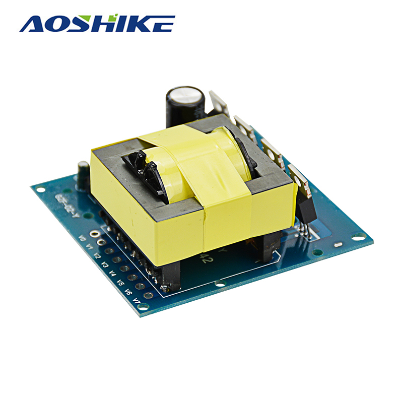 Aoshike Updated DC-AC Converter 12V to 220V 380V 18V AC 500W Inverter Board Transformer Power aoshike usb 1500w watt dc 12v to ac 220v