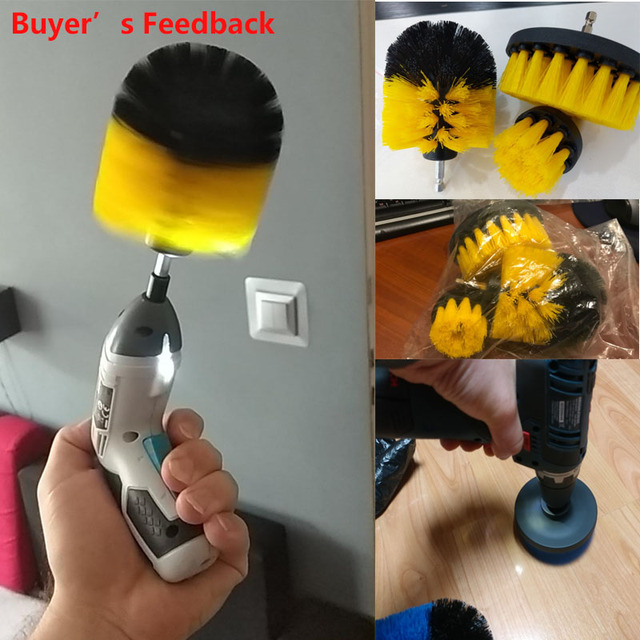 Power Scrubber Cordless Electric Cleaning Brush Set