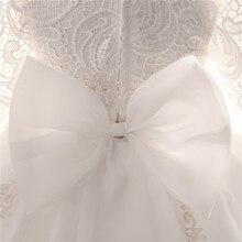 Winter Long Sleeve White Dress