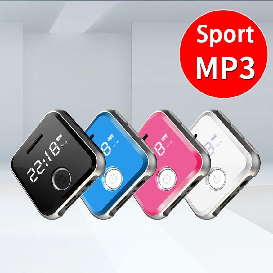 16 GB/8 GB lecteur MP3 Sport Mini poignet Portable Mp3 HIFI lecteur de musique sans perte avec Radio FM enregistreur vocal pour jogging baladeur