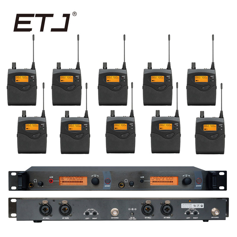 все цены на In Ear Monitor Wireless System Professional for Stage Performance SR2050 IEM With 10 Receiver онлайн