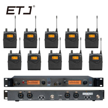In Ear Monitor Wireless System  Professional for Stage Performance SR2050 IEM With 10 Receiver em2050 wireless in ear monitor system 10 ear monitoring systems wireless stage monitor system em2050 iem bodypack monitor