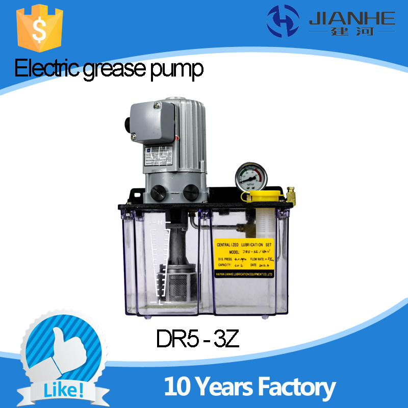 JIANHE 380V DR5-3Z type Electric Grease Pump for Lubrication System/CNC Machine