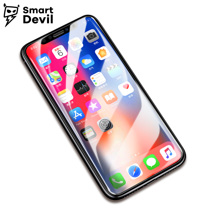 SmartDevil Screen Protector for apple iphone X Mobile Phone