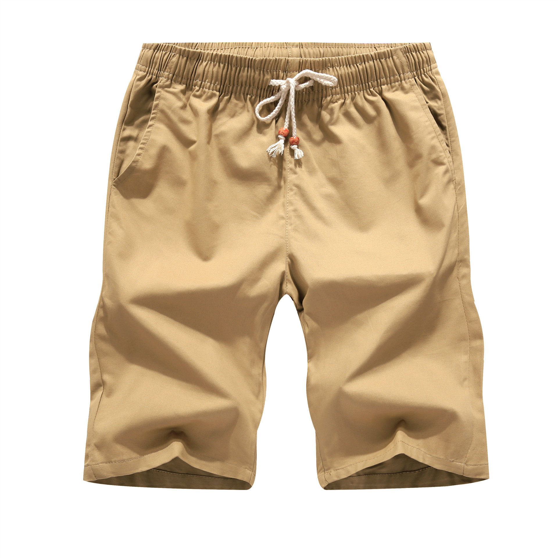 Popular Mens Cotton Shorts Elastic Waist-Buy Cheap Mens Cotton ...