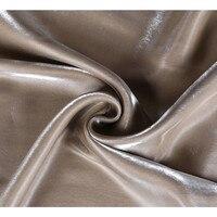 CF463 1 м твердой древесины, меняющие цвет хаки хлопчатобумажная ткань Tencel импортируется из цветной глазурью окрашенной пряжи из хлопка и шелк...