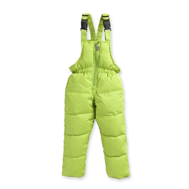 New Boys Girls Winter Down Pants Warm Children Trousers Windproof For Kids Clothes Baby Plus Velvet Fashion Clothing 1-6years