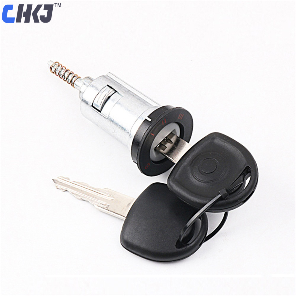 CHKJ Car Ignition Lock Barrel Cylinder Auto Door Lock Cylinder For Opel 01-04 Zafira With 2pcs Keys For Locksmith Free Shipping цена