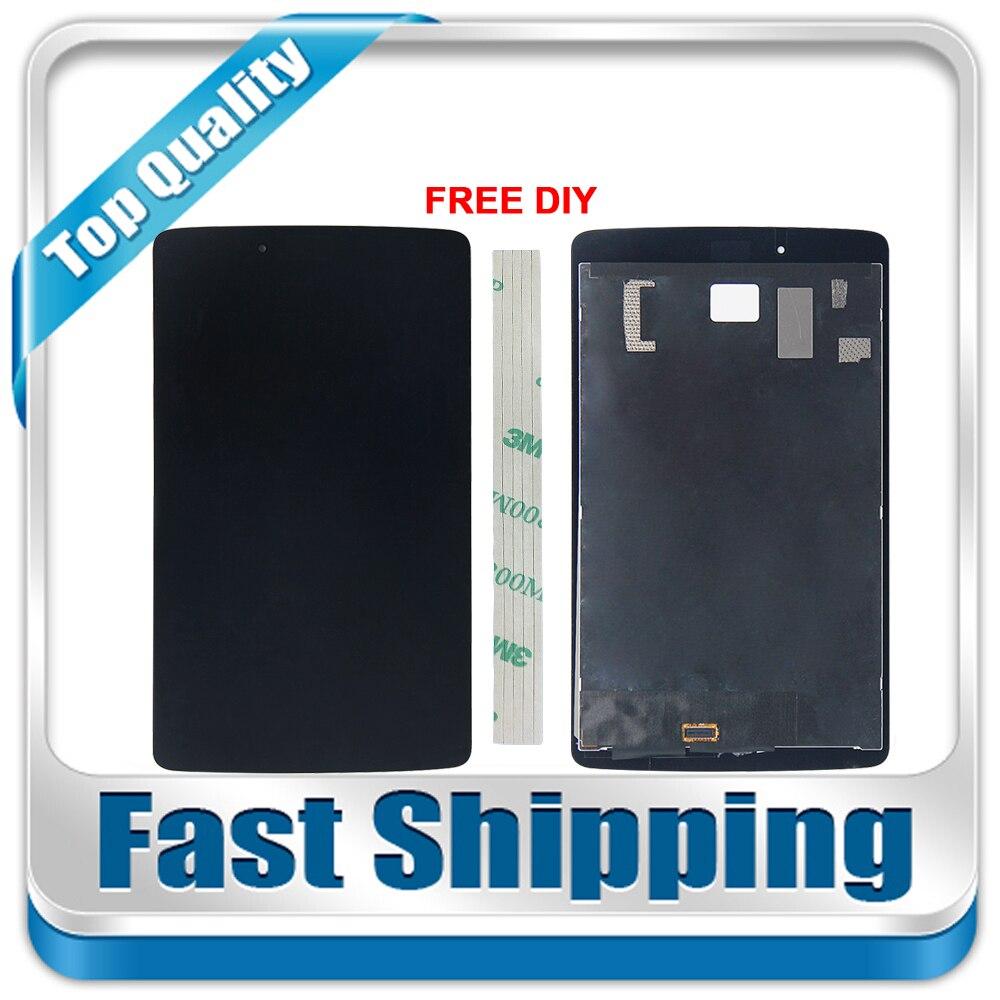 все цены на New For LG G Pad 8.0 V480 V490 Replacement LCD Display Touch Screen Digitizer Glass Assembly 8-inch Black онлайн