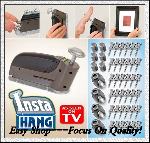 120packslot Insta Hang Picture Hanging Tool Kit As Seen On Tv