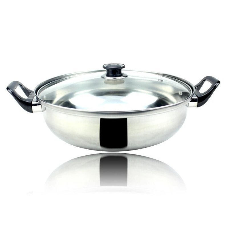 Multi function Hot Pot Soup Pot Stainless Steel Cooker Soup Pot Non stick Pot Kitchen Cooking Tools