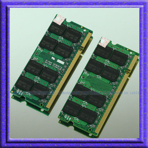 ФОТО 4GB 2x2GB PC2-4200 DDR2-533 533Mhz 200pin DDR2 SODIMM Laptop Memory 2G pc2 4200 533 Notebook Module RAM Free Shipping