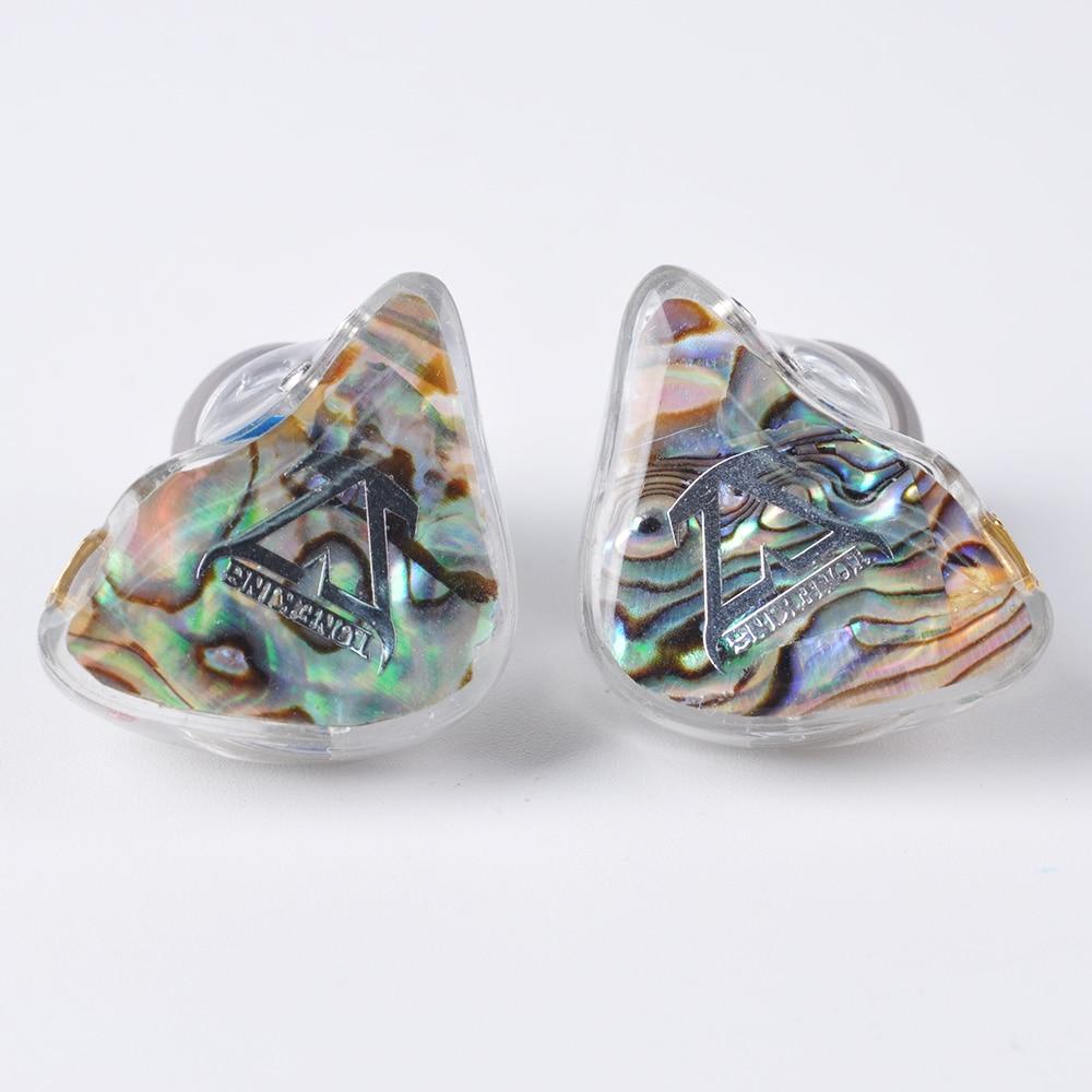 TONEKING BL1 14 ミリメートル平面ダイヤフラム Orthodynamic ユニットで耳イヤホンハイファイイヤホン着脱式デタッチ MMCX ケーブルカスタムイヤホン  グループ上の 家電製品 からの Bluetooth イヤホン & ヘッドホン の中 2