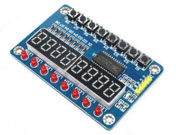 TM1638 Module Key Display For Arduino New 8-Bit Digital LED Tube 8-Bit Connector