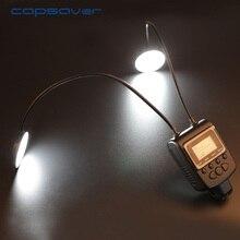 Capsaver Anel LED Flash Light Speedlite Lanterna para a Câmera Sony Minolta Close-up Tiro GN 21 5500 K Flexível Tubo de Metal