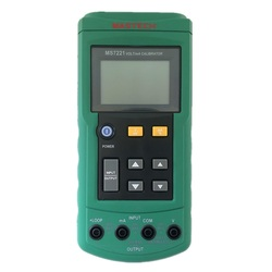 Mastech MS7221 V/mA źródło napięcia prądu kalibrator wyjściowego miernika krok DC 0-10 V 0-24mA Tester