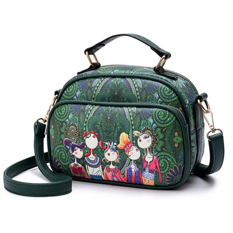 Bag Bande Vert Un Bag En Sac Main Féminin Luxe Dessinée Dames purple Supérieure Qualité De Cuir À Principal Marque Green Designer Bag 2018 red Pu Bandoulière PxgUv4U