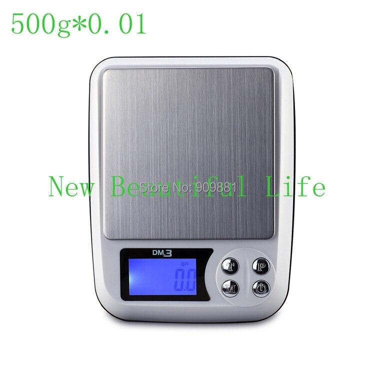 500 г 0.01 г ЖК-дисплей Таблица Jewellery Весы Digital точные электронные почтовый баланс Вес бытовой Кухонные весы Лидер продаж