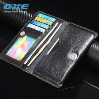 Gxe حقيقية حقيقي جلدي محفظة الحقيبة القضية لسامسونج غالاكسي j1 j2 j3 j5 j7 prime J320 J510F J710F أكياس ، الحقائب غطاء الهاتف